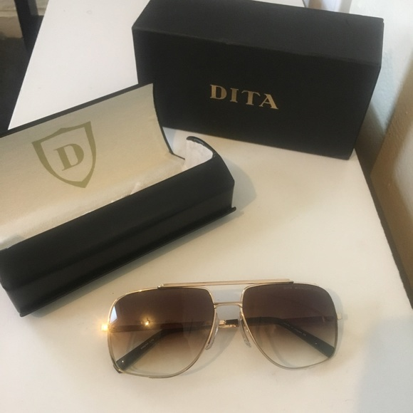 97d8a78f053 DITA Other - Dita Midnight Special Gold Sunglasses